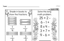 Third Grade Number Sense Worksheets Worksheet #95