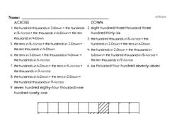Place value figure logic puzzle.