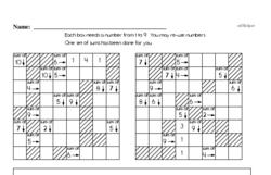 Third Grade Number Sense Worksheets Worksheet #90