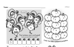 Third Grade Number Sense Worksheets Worksheet #35