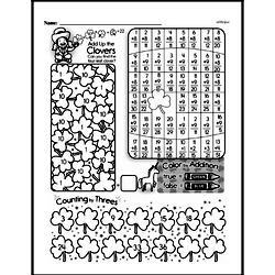Third Grade Patterns Worksheets - Number Patterns Worksheet #2