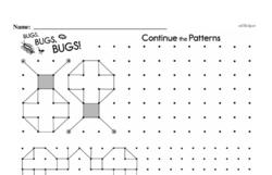 Third Grade Patterns Worksheets Worksheet #6