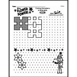 Third Grade Patterns Worksheets Worksheet #8