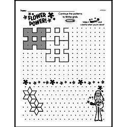 Third Grade Patterns Worksheets Worksheet #9