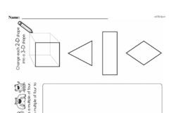 Third Grade Patterns Worksheets Worksheet #18