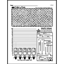Free Third Grade Patterns PDF Worksheets Worksheet #5
