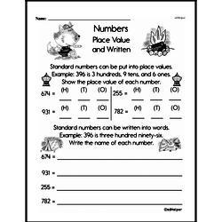 Place Value Worksheets - Free Printable Math PDFs Worksheet #8