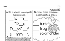 Free Third Grade Subtraction PDF Worksheets Worksheet #21