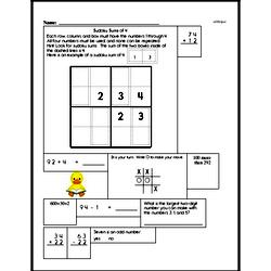 Easier Addition and Subtraction Logic Fun Practice Book
