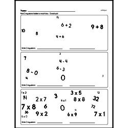 Free Third Grade Subtraction PDF Worksheets Worksheet #4