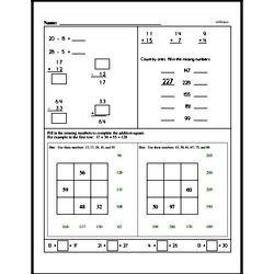 Third Grade Time Worksheets - Elapsed Time Worksheet #1