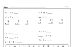 Third Grade Time Worksheets - Time to the Minute Worksheet #1