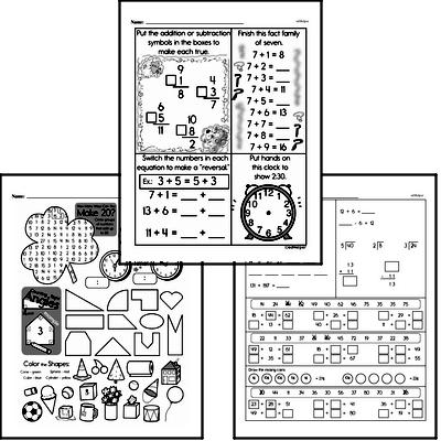 Time Workbook (all teacher worksheets - large PDF)