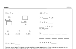 Free Third Grade Time PDF Worksheets Worksheet #6
