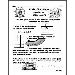 Word Problems Worksheets - Free Printable Math PDFs Worksheet #2