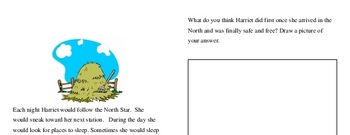 Third Grade Black History Reading and Writing Workbook
