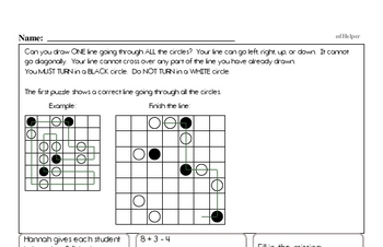 July Fun Packets - Small 5-7 Page Worksheets<BR>Use for homework, in the classroom, or for fast finishers.