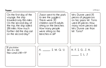 November Fun Packets - Small 5-7 Page Worksheets<BR>Use for homework, in the classroom, or for fast finishers.