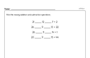 Addition - Multi-Digit Addition Workbook (all teacher worksheets - large PDF)
