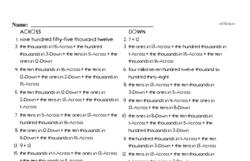 Fourth Grade Addition Worksheets - Multi-Digit Addition Worksheet #4