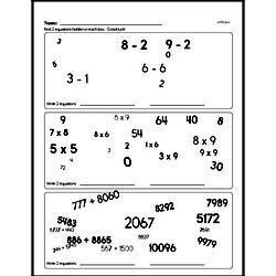 Fourth Grade Addition Worksheets - Multi-Digit Addition Worksheet #5