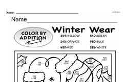 Fourth Grade Addition Worksheets - Three-Digit Addition Worksheet #16
