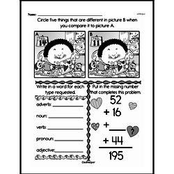 Fourth Grade Addition Worksheets Worksheet #10