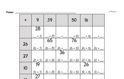 Addition Worksheets - Free Printable Math PDFs Worksheet #287