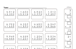 Addition Worksheets - Free Printable Math PDFs Worksheet #359