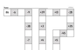 Addition Worksheets - Free Printable Math PDFs Worksheet #68