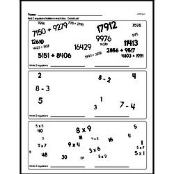 Addition Worksheets - Free Printable Math PDFs Worksheet #234