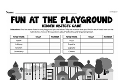 Fourth Grade Data Worksheets - Collecting and Organizing Data Worksheet #30