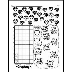 Fourth Grade Data Worksheets - Collecting and Organizing Data Worksheet #7
