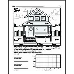 Fourth Grade Data Worksheets - Collecting and Organizing Data Worksheet #21