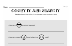 Fourth Grade Data Worksheets - Graphing Worksheet #33