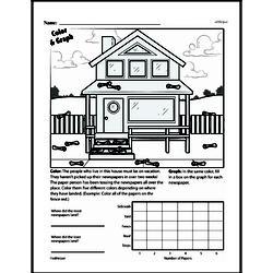 Fourth Grade Data Worksheets - Graphing Worksheet #24