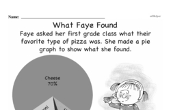 Data - Probability and Statistics Mixed Math PDF Workbook for Fourth Graders