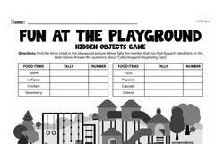 Fourth Grade Data Worksheets Worksheet #3
