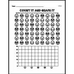 Fourth Grade Data Worksheets Worksheet #1