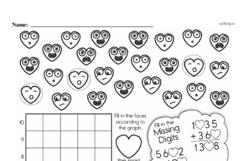 Fourth Grade Data Worksheets Worksheet #13