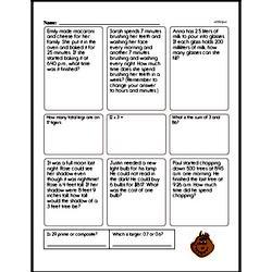 Fourth Grade Division Worksheets - Decimal Division Worksheet #1