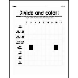 Fourth Grade Division Worksheets - Divisibility Rules Worksheet #1