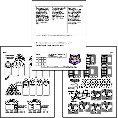 Division - Division with One-Digit Divisors Workbook (all teacher worksheets - large PDF)