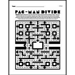 Fourth Grade Division Worksheets - Division with Remainders Worksheet #4