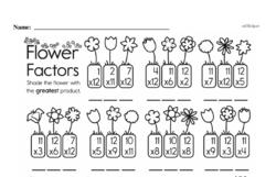 Fourth Grade Division Worksheets - Division with Remainders Worksheet #2