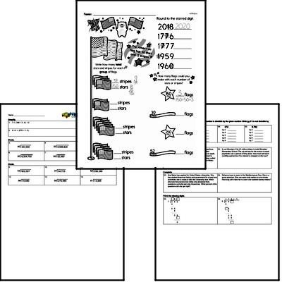 Division - Division with Two-Digit Divisors Workbook (all teacher worksheets - large PDF)