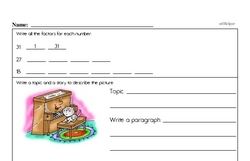 Fourth Grade Division Worksheets - Division with Two-Digit Divisors Worksheet #1