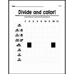 Division Worksheets - Free Printable Math PDFs Worksheet #6