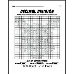Division Worksheets - Free Printable Math PDFs Worksheet #10
