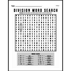 Division Worksheets - Free Printable Math PDFs Worksheet #18